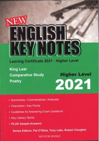 New English Key Notes 2021 Higher Level