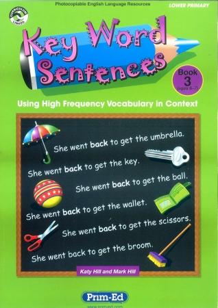 Key Word Sentences Book 3 - Ages 6-7