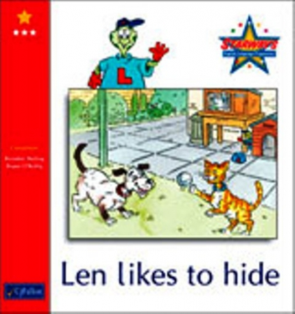 Len Likes To Hide - Core Reader 3 - Starways Stage One - Junior & Senior Infants