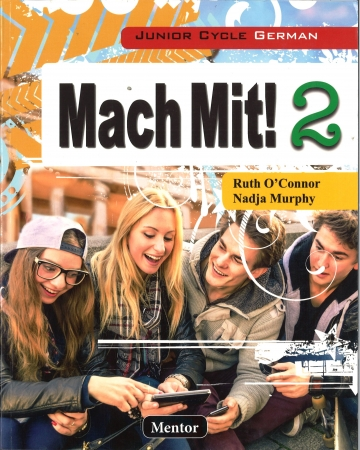 Mach Mit! 2 Pack Textbook & Portfolio Junior Cycle German Includes Free eBook