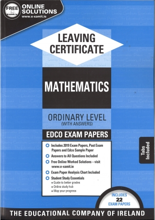 Leaving Cert Maths Ordinary Level - Includes 2019 Exam Papers