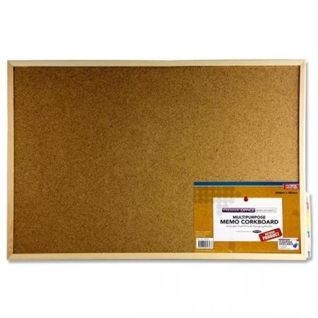 Cork Noticeboard 60cmx40cm