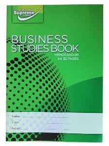 Business Studies Memorandum 40 PAGE SINGLE