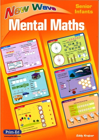 New Wave Mental Maths Senior Infants - Revised edition