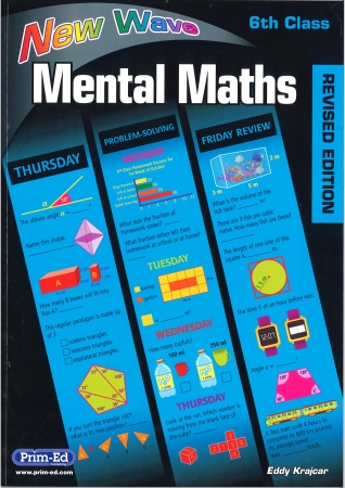 New Wave Mental Maths Sixth Class - Revised edition