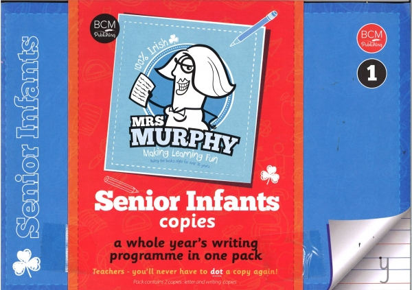 Mrs Murphy - Senior Infants Copies