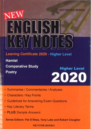 New English Key Notes 2020 - Leaving Certificate Higher Level