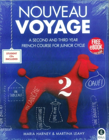Nouveau Voyage 2 - A 2nd & 3rd Year French Course For Junior Certificate - Includes Free eBook