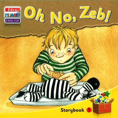 Oh No, Zeb! - Storybook 1 - Big Box Adventures - Senior Infants