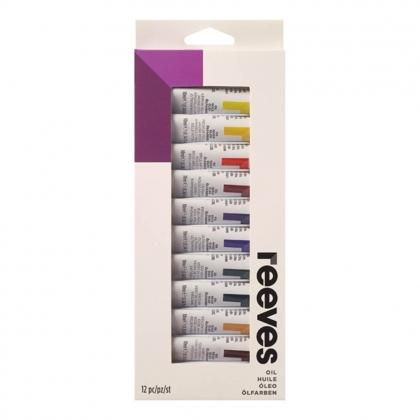 Oil paint set 12 tubes