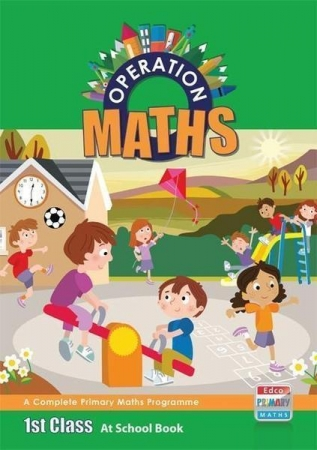 Operation Maths 1 - At School Book & Assessment Book