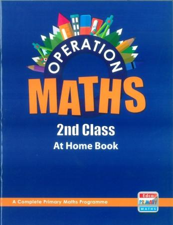 Operation Maths 2 - At Home Book - Second Class