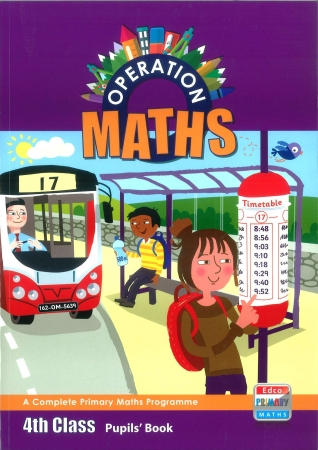 Operation Maths 4 Pack - Pupil's Book, Assessment Book & Discovery Book - Fourth Class