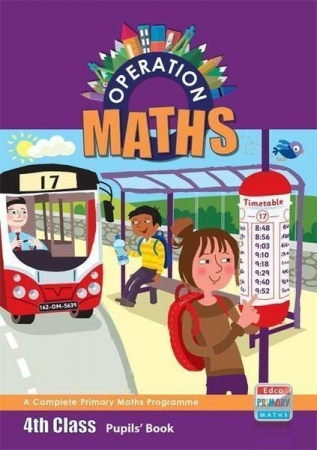 Operation Maths 4 - Pupil's Book
