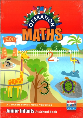 Operation Maths Junior Infants Pack - Pupil's Book, Assessment Book & At Home Book