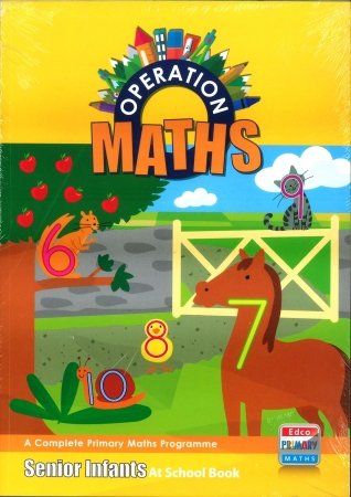 Operation Maths Senior Infants Pack - Pupil's Book, Assessment Book & At Home Book