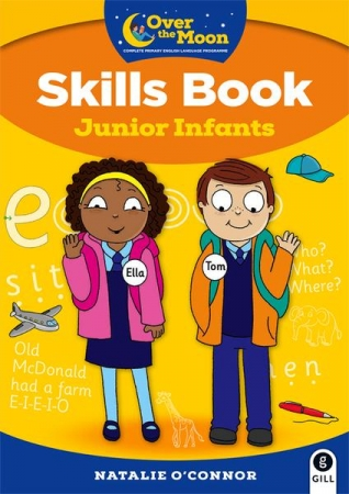 Over The Moon - Skills Book Junior Infants