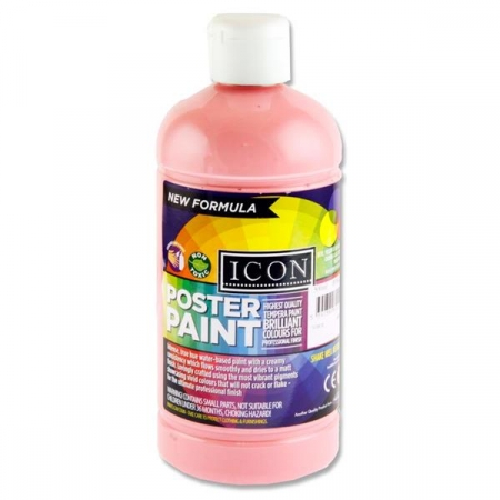 Poster Paint Pink 500ml