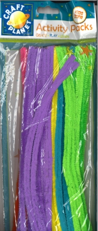 Pipe Cleaners 30cm 60's - Assorted Pack