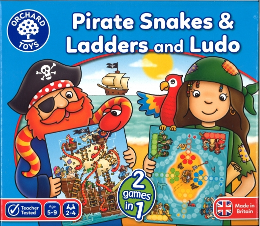 Pirates Snakes & Ladders & Ludo
