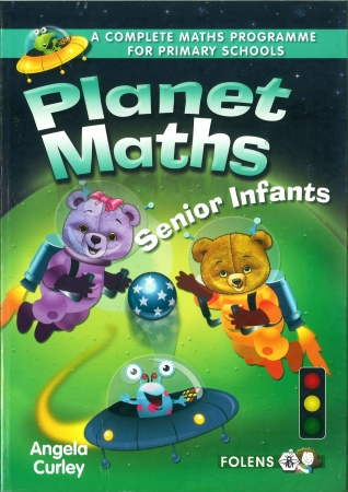 Planet Maths Senior Infants Pack - Textbook & Activity Book