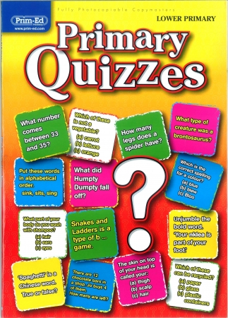 Primary Quizzes - Lower Primary
