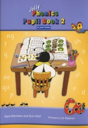 Jolly Phonics - Pupil Book 2 - Colour