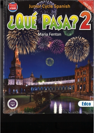 Que Pasa 2 Pack - Text Book & Work Book - Junior Cycle Spanish - Includes Free eBook