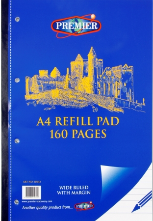 Refill Pad 160 PAGE A4 Side Bound