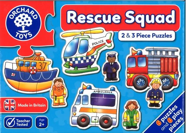 Rescue squad jigsaws