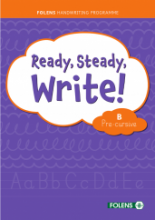 Ready Steady Write - Pre-Cursive B Set
