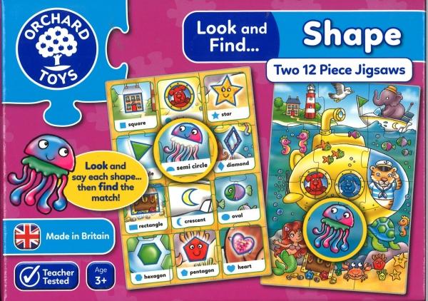 Shape Two Piece Jigsaws