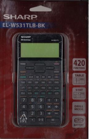 Sharp Scientific Calculator EL-W531LB-BK
