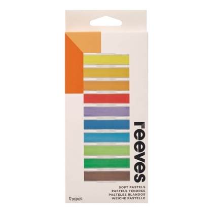 Reeves Chalk Pastels 12 Pack