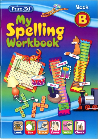 My Spelling Workbook B - New Edition - First Class