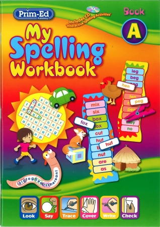 My Spelling Workbook A - New Edition - Senior Infants