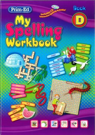 My Spelling Workbook D - New Edition - Third Class