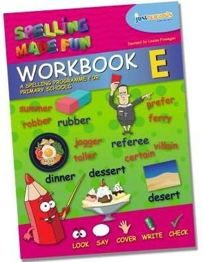 Just Rewards - Spelling Made Fun Workbook E - Fourth Class
