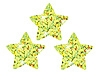 Stickers Gold Sparkle Stars