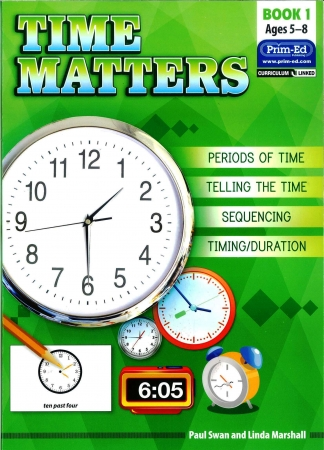 Time Matters Book 1 - Ages 5-8 Years