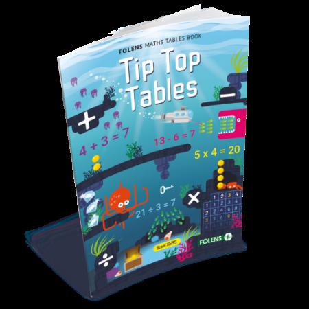 Tip Top Tables - Folens Tables Book