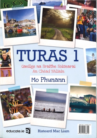 Turas 1 Pack - Textbook & Portfolio/Activity Book & 2 CD's