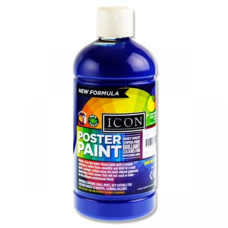Poster Paint Ultramarine 500ml