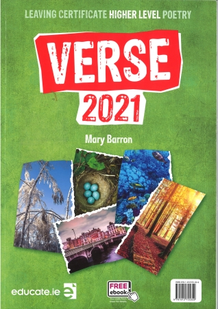 Verse 2021 - Textbook - Higher Level Leaving Certificate English - Includes Free eBook