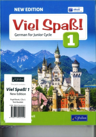 Viel Spas 1 Pack - Textbook & Text Booklet - 2nd Edition - Junior Cycle German - Includes Free eBook