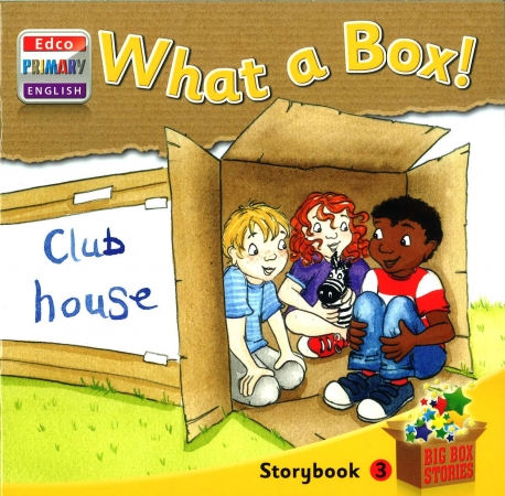 What A Box! - Storybook 3 - Big Box Adventures - Senior Infants