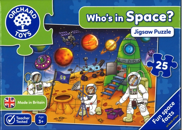 Who's In Space Jigsaw