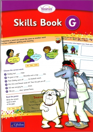 Skills Book G - Wonderland Stage Two - Second Class