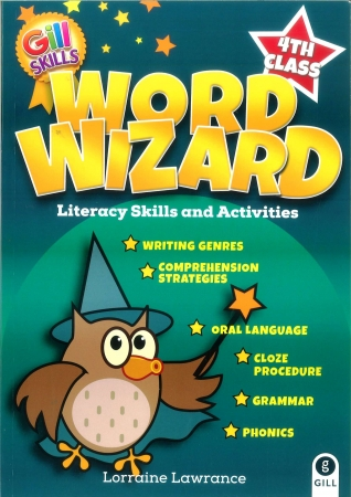 Word Wizard 4 - Literacy Skills & Activities - Fourth Class